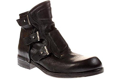 A.S 98 409206 - Herren Stiefel Stiefelette Biker Boots - 0010nightnero, Größe:43 EU