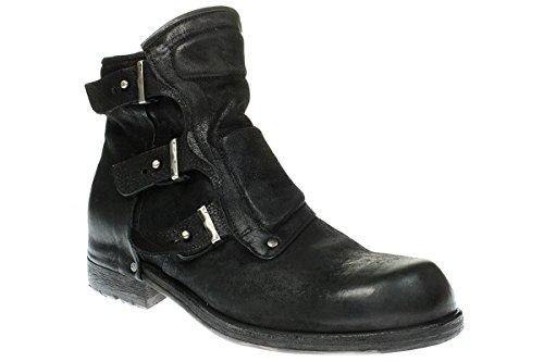 A.S.98 409206-0101 - Herren Schuhe Stiefel Boots Stiefelette - 6002-nero, Größe:46 EU