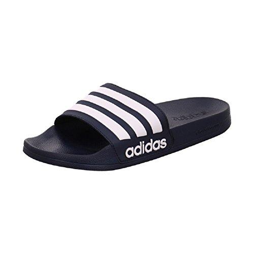 Adidas Adilette Badelatschen AQ1703 (38, navy/white)