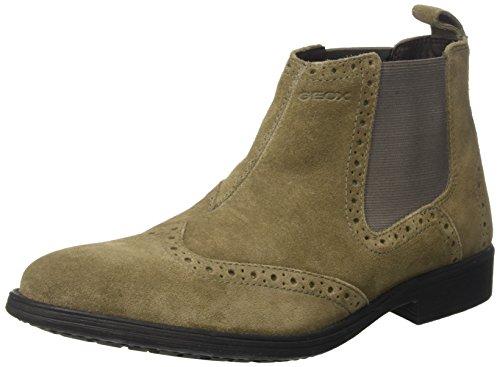 Geox Herren U Jaylon B Chelsea Boots, Beige (Dove Grey), 43 EU