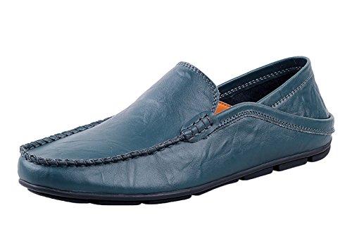 ICEGREY Herren Classy Mokassins Schuhe Tiefes Blau 41