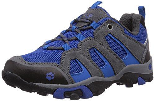 Jack Wolfskin BOYS MTN ATTACK LOW, Jungen Trekking- & Wanderhalbschuhe, Blau (classic blue 1127), 30 EU (11.5 Kinder UK)