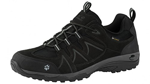 Jack Wolfskin TRACTION LOW TEXAPORE MEN, Schuhgröße:46, Farbe:nearly black