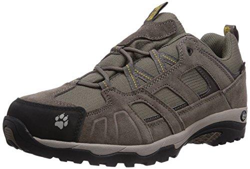 Jack Wolfskin Vojo Hike Texapore 4011381-30551 Herren Trekking- und Wanderhalbschuhe, beige (dark sulphur 3055), 44,5 EU