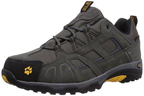 Jack Wolfskin Vojo Hike Texapore 4011381-30551 Herren Trekking- und Wanderhalbschuhe, grau (burly yellow 3800), 40.5 EU