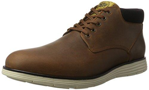 LLOYD Herren Bernie Hohe Sneaker, Beige (Reh/Schwarz), 41 EU