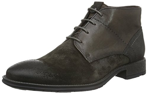 LLOYD Herren Dero Kurzschaft Stiefel, Grau (Granit/Smoke/Grey 1), 44 EU