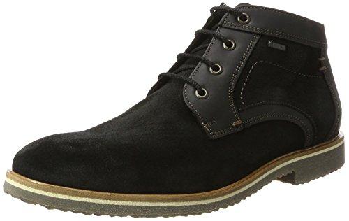 LLOYD Herren Valentin Gore-Tex Desert Boots, Schwarz (Schwarz), 47 EU