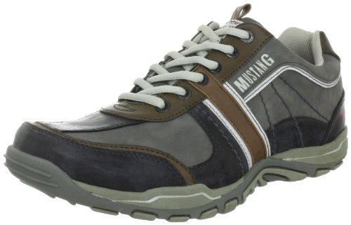 Mustang 4027-309-233, Herren Sneakers, Grau (233 stein/grau), 47 EU