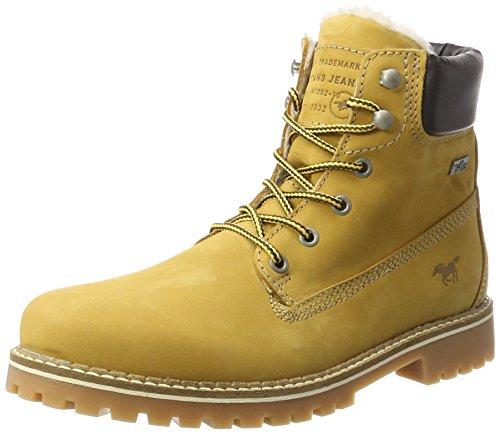 Mustang Herren 4875-605-66 Klassische Stiefel, Gelb (Camel), 44 EU