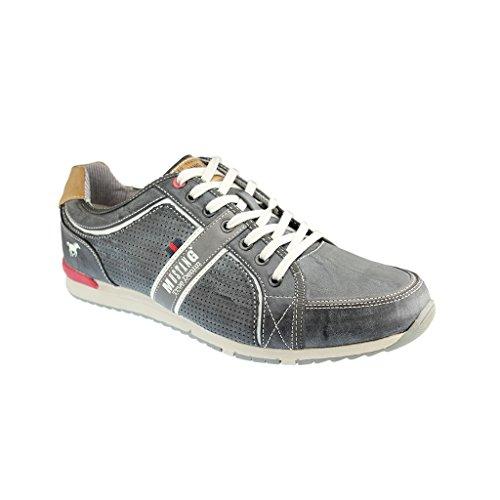 Mustang Herren Sneaker Grau Stein 49