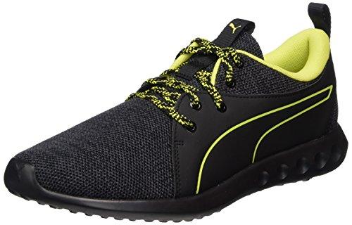 Puma Herren Carson 2 Terrain Outdoor Fitnessschuhe, Schwarz (Black-Quiet Shade-Nrgy Yellow), 41 EU