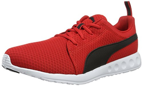 Puma Herren Carson Mesh Laufschuhe, Rot (High Risk Red Black 06), 45 EU