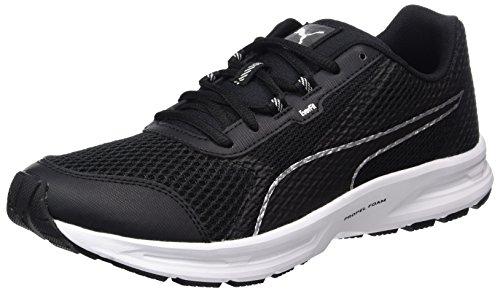Puma Herren Essential Runner Outdoor Fitnessschuhe, Schwarz (Black-Silver), 40 EU