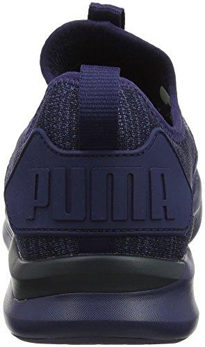 Puma Herren Ignite Flash Evoknit Cross-Trainer, Blau (Peacoat), 44 EU