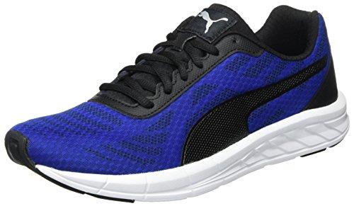 Puma Herren Meteor Laufschuhe, Blau (True Blue Black 10), 44.5 EU