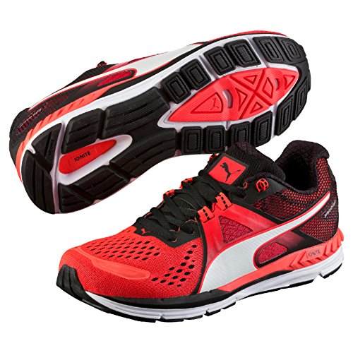 Puma Herren Speed 600 Ignite Laufschuhe, Rot (Red Blast-Black White 06), 44 EU