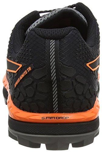 Puma Herren Speed Ignite Trail Outdoor Fitnessschuhe, Schwarz (Black-Shocking Orange-Quiet Shade), 44 EU
