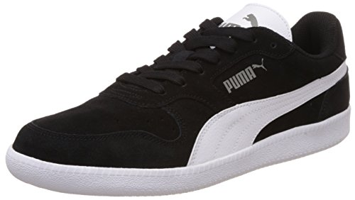 Puma Icra Trainer SD, Unisex-Erwachsene Sneakers, Schwarz (Black-White 16), 46 EU (11 Erwachsene UK)