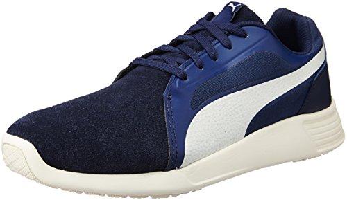 Puma St Trainer Evo SD, Unisex-Erwachsene Sneakers, Blau (Peacoat-Whisper White 03), 40 EU (6.5 Erwachsene UK)