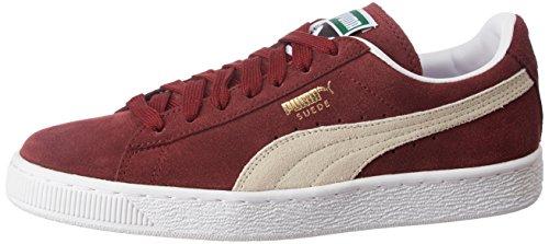 Puma Suede Classic+, Unisex-Erwachsene Sneaker, Rot (Cabernet/Weiß), 39 EU