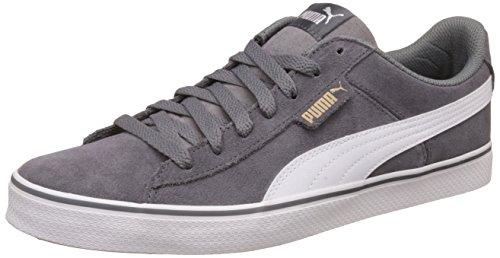 Puma Unisex-Erwachsene 1948 Vulc Sneakers, Grau (Quiet Shade White 07), 44 EU
