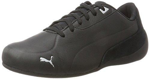 Puma Unisex-Erwachsene Drift Cat 7 Cln Sneaker, Schwarz (Black-Black-Silver), 44 EU