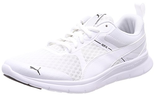 Puma Unisex-Erwachsene Flex Essential Cross-Trainer, Weiß White, 42 EU