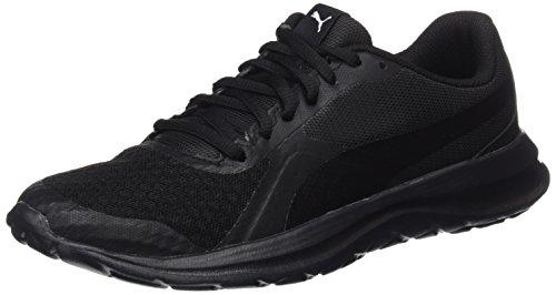 Puma Unisex-Erwachsene FlexT1 Sneaker, Schwarz (Black-Black), 44.5 EU