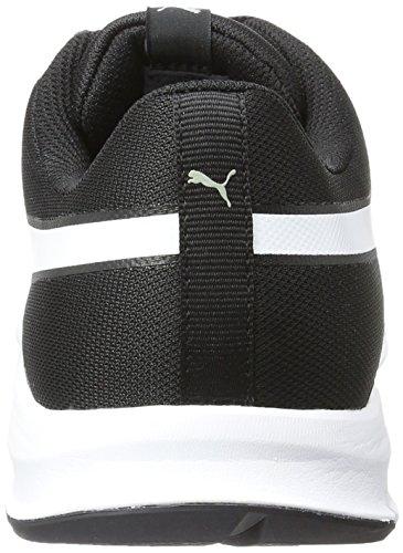 Puma Unisex-Erwachsene Flexracer Sneakers, Schwarz (Black-White 01), 43 EU (9 UK)