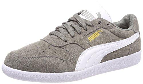 Puma Unisex-Erwachsene Icra Trainer SD Sneaker, Grau (Steel Gray White), 47 EU