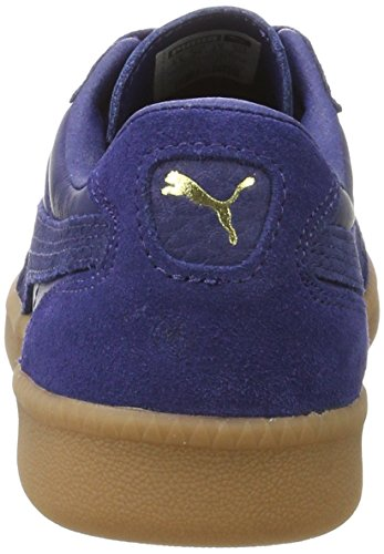 Puma Unisex-Erwachsene Liga Leather Sneaker, Blau (Blue Depths-Blue Depths), 47 EU