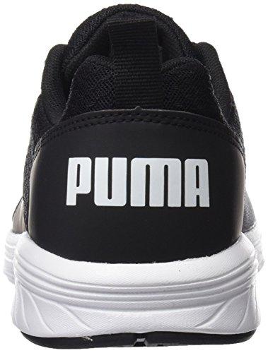 Puma Unisex-Erwachsene Nrgy Comet Cross-Trainer, Schwarz Black-White, 44 EU