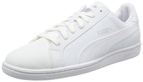 Puma Unisex-Erwachsene Smash Buck Sneakers, Weiß White White 24, 43 EU