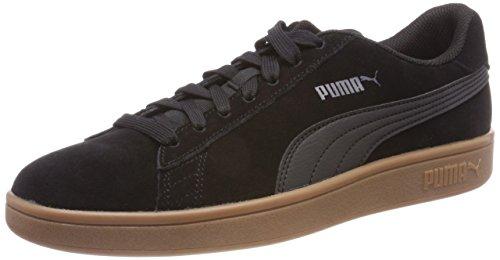 Puma Unisex-Erwachsene Smash v2 Sneaker, Schwarz Black Black, 46 EU