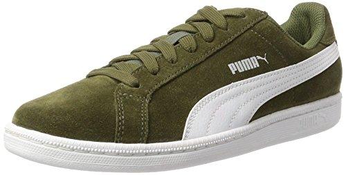 Puma Unisex-Erwachsene Smashsd Sneaker, Grün (Olive Night-White), 43 EU