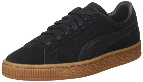 Puma Unisex-Erwachsene Suede Classic Natural Warmth Sneaker, Schwarz (Black-Black), 44 EU