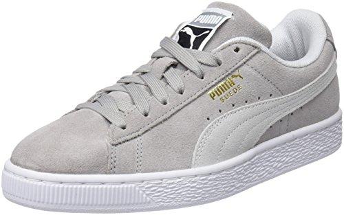 Puma Unisex-Erwachsene Suede Classic Sneaker, Grau (Ash White), 43 EU