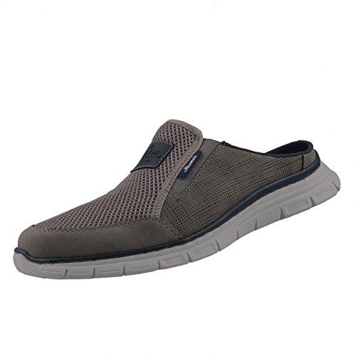 Rieker Herren Pantoletten Grau, Schuhgröße:EUR 41