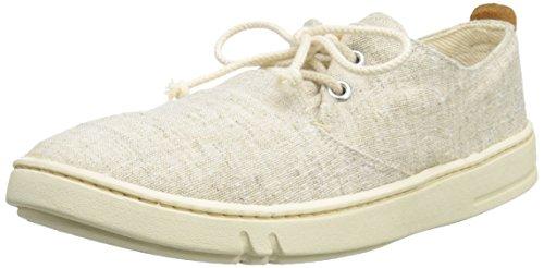 SALE - TIMBERLAND - Earthkeepers® Hookset Handcrafted - Herren Halbschuhe - Weiß Schuhe in Übergrößen, Größe:46