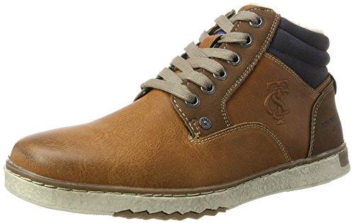 TOM TAILOR Herren 3781403 Klassische Stiefel, Braun (Camel), 44 EU