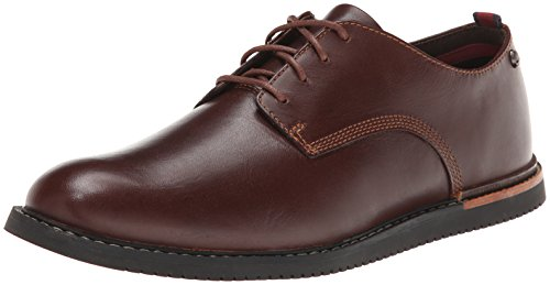 Timberland Earthkeepers Brook Park Oxford Business Halbschuhe, Red/Brown Smooth, 43 EU
