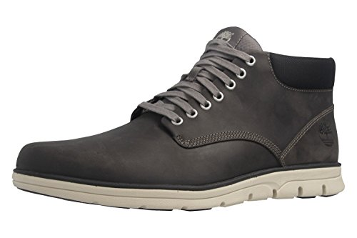 Timberland Herren Boots - Bradstreet Chukka - Grau Schuhe in Übergrößen, Größe:47.5
