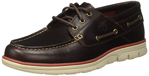 Timberland Herren Bradstreet 3 Eyebrown Pull Up Bootsschuhe, Braun (Brown Pull Up), 44,5 EU