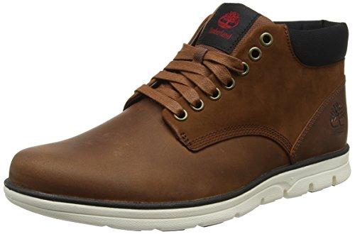 Timberland Herren Bradstreet Leather Sensorflex Chukka Boots, Braun (Red Brown FG), 45 EU
