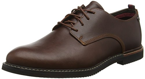 Timberland Herren Brook Park Derby Schnürhalbschuhe, Braun (Red Brown Smooth), 45.5 EU