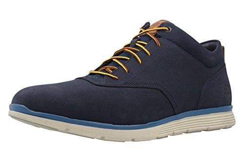 Timberland Herren Halbschuhe - Killington Half Cab Chukka - Blau Schuhe in Übergrößen, Größe:50