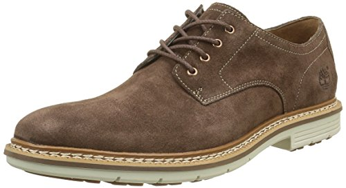 Timberland Herren Naples Trail Oxford Potting Soil Schuhe mit Schnürung, Marron (Potting Soil), 46 EU
