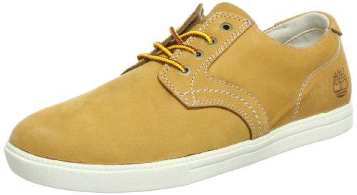 Timberland Newmarket_Newmarket_Fulk LP Ox, Herren Hohe Sneakers, Braun (Wheat Nubuck), 43.5 EU