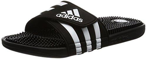 adidas Adissage, Herren Dusch- & Badeschuhe, Schwarz (Black/Black/Running White Ftw), 42 EU (8 Herren UK)